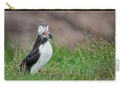 Atlantic Puffin With Sandeels Carry-all Pouch