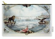 Atlantic Telegraph Cable Carry-all Pouch