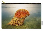Atlantic Trumpet Triton Shell Carry-all Pouch