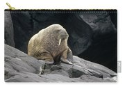 Atlantic Walrus Bull On Rocky Shore Carry-all Pouch