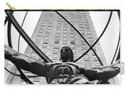 Atlas In Rockefeller Center Carry-all Pouch