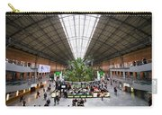 Atocha Railway Station Interior In Madrid Carry-all Pouch