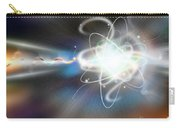 Atom Collision Carry-all Pouch by Mike Agliolo