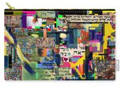 Atomic Bomb Of Purity 2c Carry-all Pouch by David Baruch Wolk