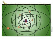 Atomic Structure Model Carry-all Pouch by Science Source