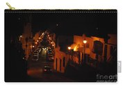 Atop Calle Hostos At Night Horizontal Carry-all Pouch