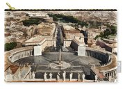 Atop The Domo - Vatican Carry-all Pouch by Jon Berghoff