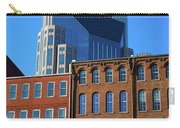 At&t Building And Historic Red Brick Carry-all Pouch