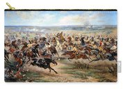Attack Of The Horse Regiment Carry-all Pouch by Victor Mazurovsky