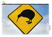 Attention Kiwi Crossing Road Sign Carry-all Pouch