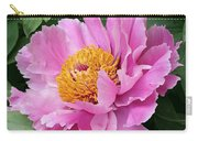 Attractive Pink Peony Carry-all Pouch