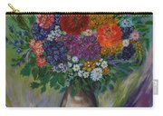 Atumn Flowers Carry-all Pouch