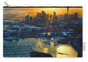 Auckland Oil On Canvaz Carry-all Pouch