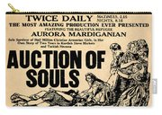 Auction Of Souls Carry-all Pouch
