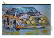 Audi Quattro On The Rocks Carry-all Pouch