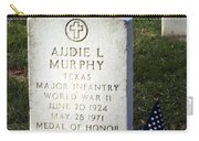 Audie Murphy - Most Decorated Carry-all Pouch