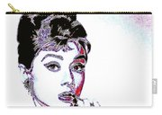Audrey Hepburn 20130330 Square Carry-all Pouch