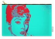Audrey Hepburn 20130330v2p128 Square Carry-all Pouch