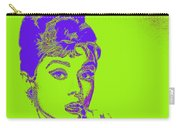 Audrey Hepburn 20130330v2p38 Square Carry-all Pouch