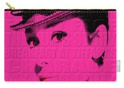 Audrey Hepburn 4 Carry-all Pouch