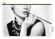Audrey Hepburn Artwork Carry-all Pouch