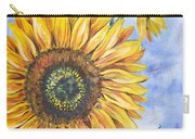 Audrey's Sunflower Carry-all Pouch