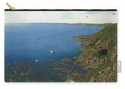 August Afternoon At Whitsand Bay Cornwall Carry-all Pouch