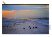 August Beach Morning With The Sea Gulls Carry-all Pouch