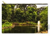 August By The Fountain Carry-all Pouch