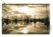 Auke Bay In Sepia Carry-all Pouch