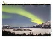 Aurora Borealis Over Bove Island Carry-all Pouch