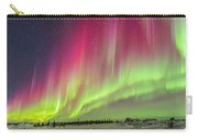 Aurora Panorama Over Northern Studies Carry-all Pouch