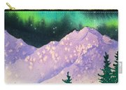 Aurora Winter In Square Carry-all Pouch