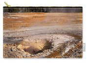 Aurum Geyser In Upper Geyser Basin In Yellowstone National Park Carry-all Pouch