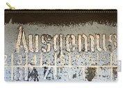 Ausgemustert Sign On Nazi Railway Car Carry-all Pouch