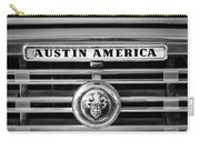 Austin America Grille Emblem -0304bw Carry-all Pouch