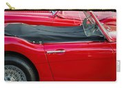 Austin Healey Red Carry-all Pouch