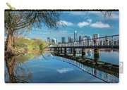 Austin Skyline And Lady Bird Lake - Carry-all Pouch