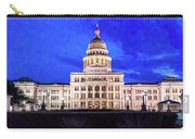 Austin State Capitol Building, Texas - Carry-all Pouch