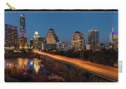 Austin, Texas Cityscape Evening Skyline Carry-all Pouch