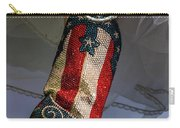 Austin Texas - Red White Blue Sequin Carry-all Pouch
