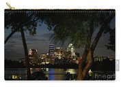Austin Wooded Skyline Carry-all Pouch