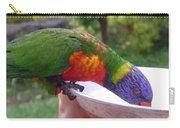 Australia - One Wet Lorikeet Feeding Carry-all Pouch