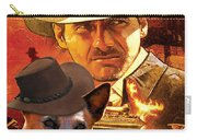 Australian Cattle Dog Art Canvas Print - Indiana Jones Movie Poster Carry-all Pouch