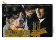 Australian Cattle Dog Art Canvas Print - Once Upon A Time In America Movie Poster Carry-all Pouch