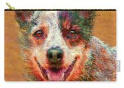 Australian Cattle Dog Carry-all Pouch by Jane Schnetlage