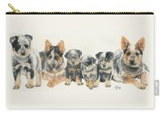 Australian Cattle Dog Puppies Carry-all Pouch