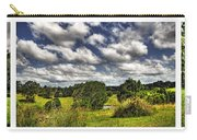 Australian Countryside - Floating Clouds Collage Carry-all Pouch