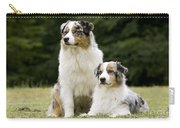 Australian Shepherd Dogs Carry-all Pouch