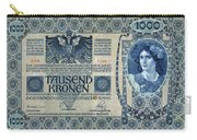 Austria Banknote, 1902 Carry-all Pouch
